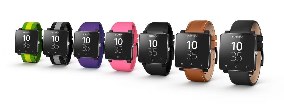 Sony Smartwatch 2 Colour Straps