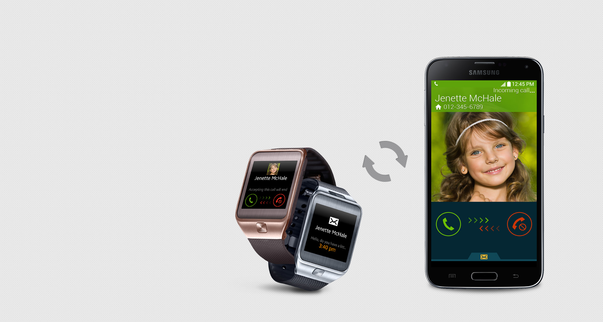 Samsung Gear 2 connect with phone