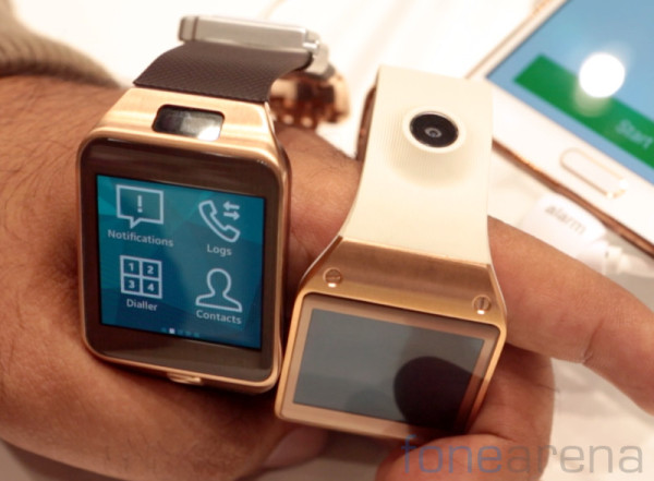 Gold Galaxy Gear 2 Smartwatch