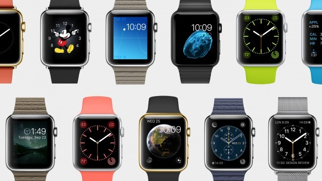 Apple Smartwatch Screen Faces
