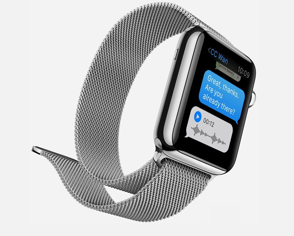 Apple Watch Screen Display