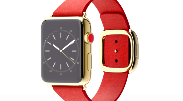 Gold Apple Watch Face