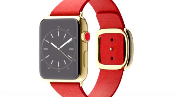 Gold Apple Watch Face