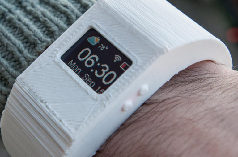 Make Your Own Smartwatch with TinyScreen