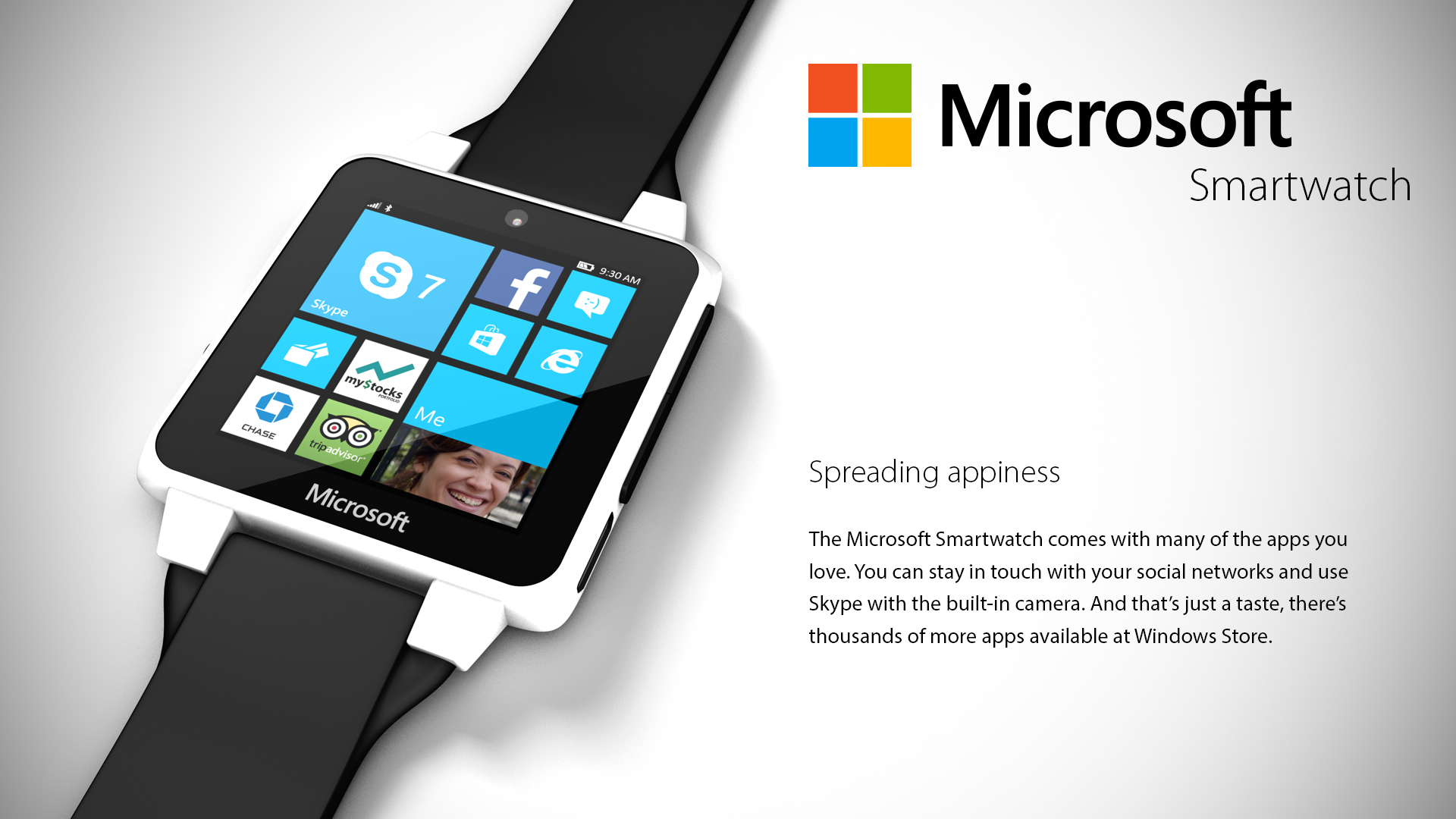 will microsoft smartwatch be next big brand announcement