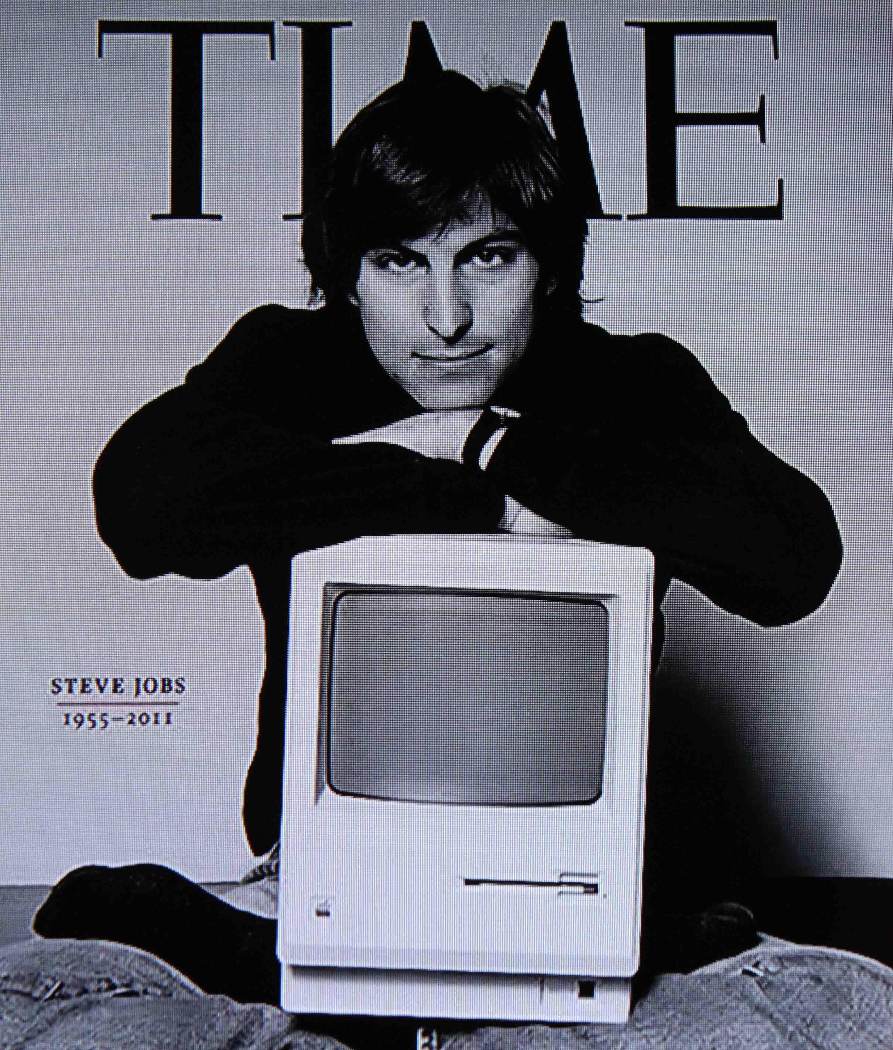 Time Magazine Steve Jobs