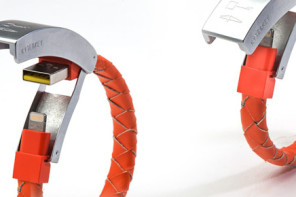 Cabelet Bracelet to Charge Your Smartwatch on the Go