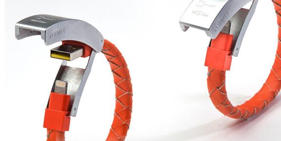 cablelet smartphone charger bracelet