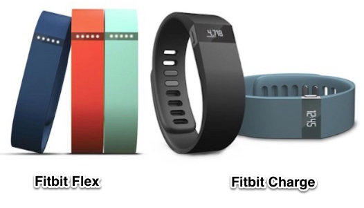 Fitbit Charge and the Flex
