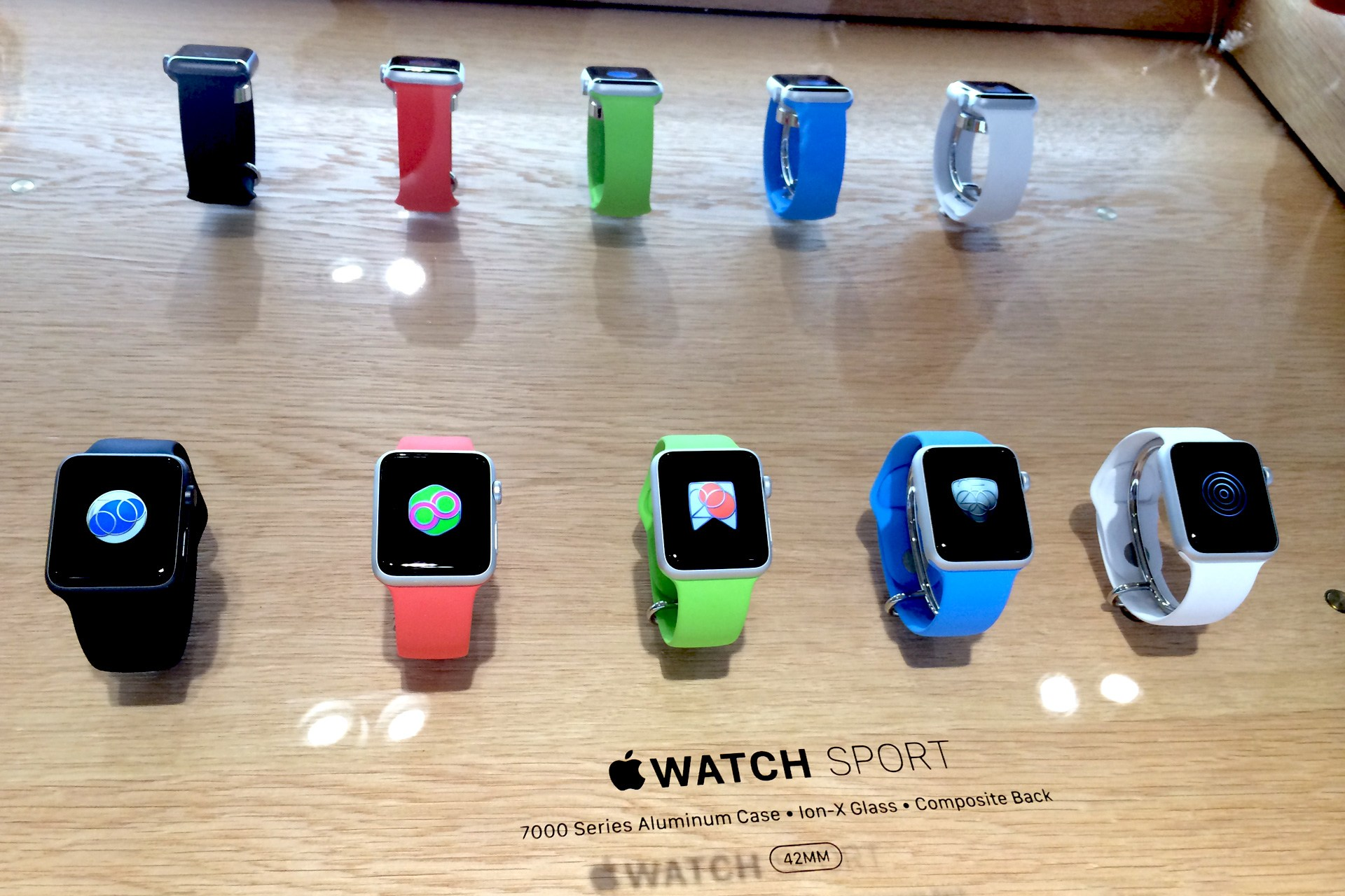 Apple Watch in Apples Stores
