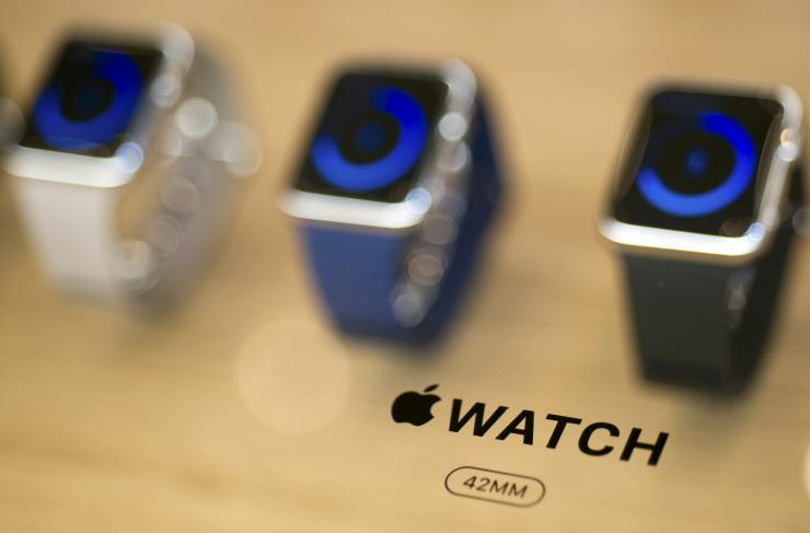 Apple Watch Saels Figures