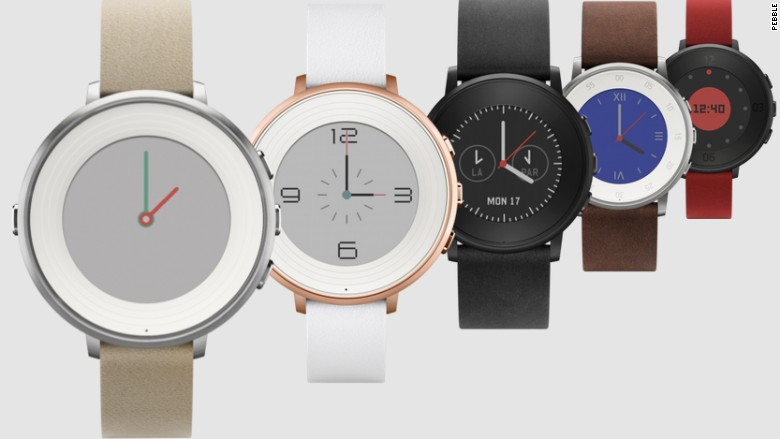 Pebble Time Round Smartwatch Review 2015