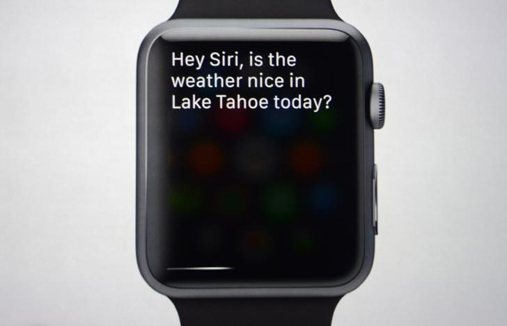 Siri in Apple Watch